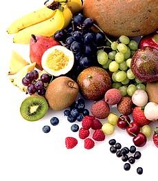 богатые клетчаткой фрукты