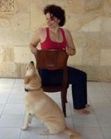 2. Бхарадваджасана на стуле