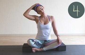 лечебная йога для шеи и плеч