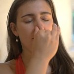 нади-шодхана - дыхание от головной боли
